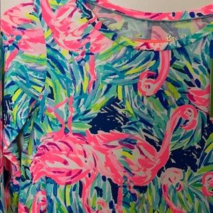 Lilly Pulitzer Dresses - Lilly Pulitzer linden dress flamingo beach